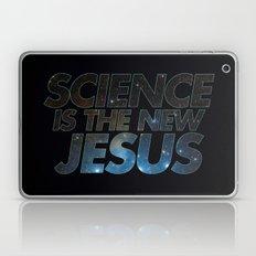 Science is the New Jesus Laptop & iPad Skin