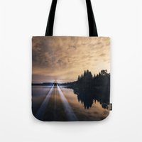 Projecting Light Tote Bag