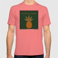 No264 My PINEAPPLE EXPRESS minimal movie poster Mens Fitted Tee Pomegranate SMALL