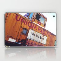 the union pacific caboose Laptop & iPad Skin