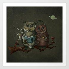 nightowls Art Print