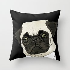puggetaboutit Throw Pillow