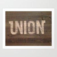 Union  Art Print