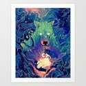 I Am Dog Art Print