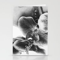 Look Behind the Orchids Stationery Cards
