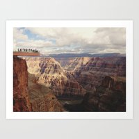 Skywalk Art Print