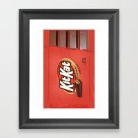 Kit Kat Framed Art Print