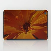 orange explosion iPad Case