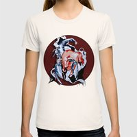 Taurus Asc. Scorpion by carographic Womens Fitted Tee Natural SMALL