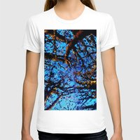 Around the trees Womens Fitted Tee White SMALL