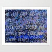 Pickup Lines - Start Tre… Art Print