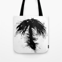 By The Palm Tote Bag