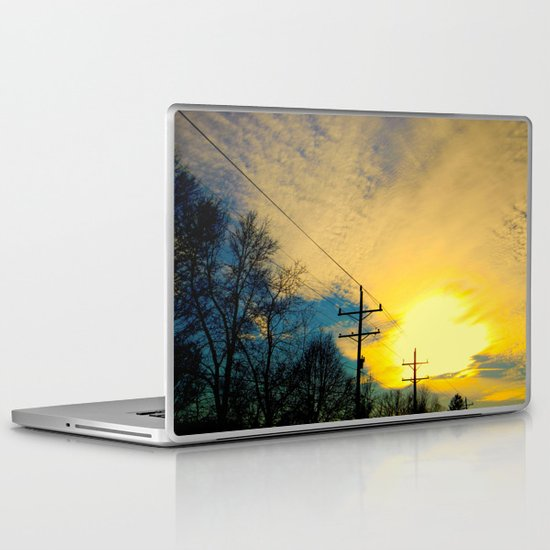 Telephone Trees Laptop & iPad Skin