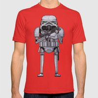 star storm fighter Mens Fitted Tee Red SMALL