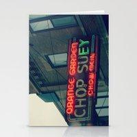 Chop Suey II ~ Chicago V… Stationery Cards
