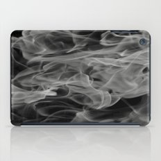 Whispers - Black and white abstract iPad Case