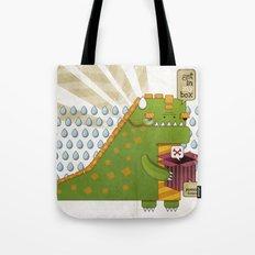 Godzilla get´s hungry!!! Tote Bag