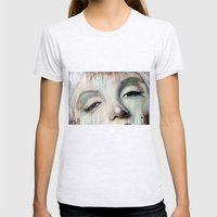 Marilyn Womens Fitted Tee Ash Grey SMALL