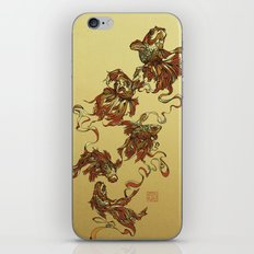 Tangled Veiltail iPhone & iPod Skin