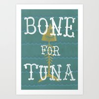 Bone For Tune (boardwalk… Art Print
