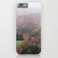 iPhone & iPod Case featuring FOGGY SWITZERLAND by Megan Robinson
