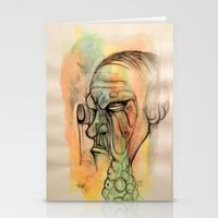 Infected  Stationery Cards