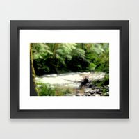 Franklin - Gordon River Framed Art Print