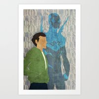 Blue Beetle, Today is the Day Art Print