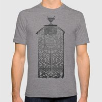 OurDead Mens Fitted Tee Tri-Grey SMALL