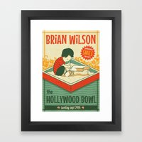 Smile Live At The Hollyw… Framed Art Print