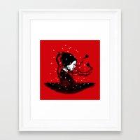 Geiko Poetry Framed Art Print