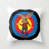 thats all folks   Throw Pillow