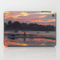 Sunset At The Cove iPad Case