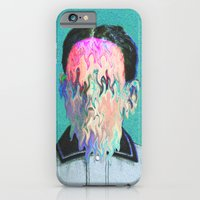 iPhone Cases featuring The Outsider by Tyler Spangler