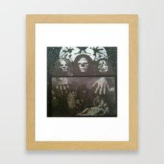 Neo Bedlam Dystopia Framed Art Print
