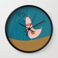 Folsky Bird Wall Clock