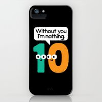 iPhone Cases featuring I Owe You, One by David Olenick