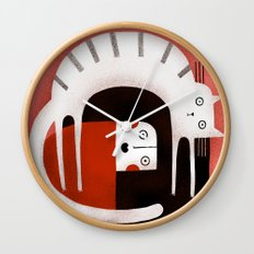 STARTLED Wall Clock