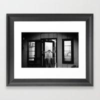Double Vision I Framed Art Print