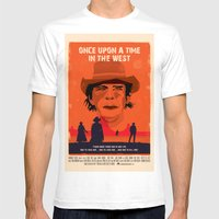 Once Upon A Time In The … Mens Fitted Tee White SMALL