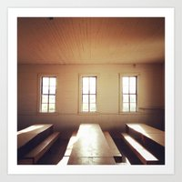 The Old Schoolhouse Art Print