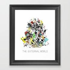The External World Framed Art Print