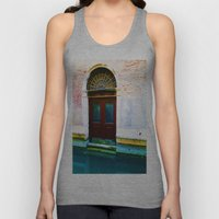 Front Lawn Unisex Tank Top