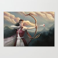 These Human Emotions Canvas Print