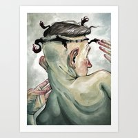 All in My Head, but Out of My Mind Art Print