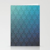 Winter Leaves Stationery Cards