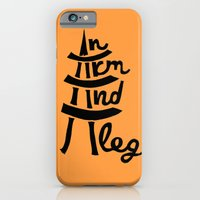 iPhone & iPod Case featuring An Arm and A Leg by Elisa Sandoval