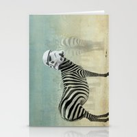 Trooper Stripes  _ Star Wars _ Zebra Stationery Cards