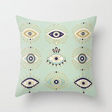 Evil Eye Collection Throw Pillow