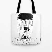 Turn That Cloud, Upside … Tote Bag